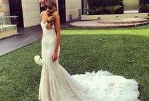 Wedding Hair - mermaid dress