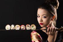 References - Digital ink 1 - Korean food illustration