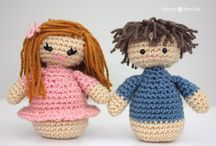 amigurumi - knitted and crocheted