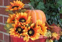 jesenné aranžovanie