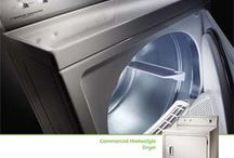 Laundry equipment / washer, dryer roller finisher, boiler, etc