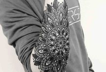 Mandala tattoo man