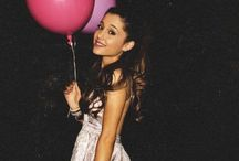 Ariana grande / Ariana is my life!!! She is soooo beautiful and talented, and funny and just too amazing for words! My fav EVER❤ I love her to the moon and all the way back;)