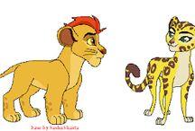 lion guard: kion and fuli