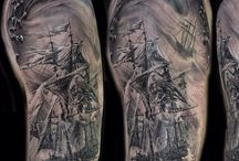 tall ship Tattoos