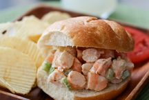 seafood recipes / by Maura Yetter