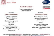 Corsi di cucina / CORSI DI CUCINA http://www.chefecultura.it/#!eventi/cwa1