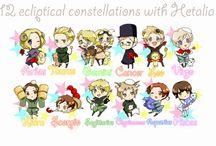 hetalia zodiac