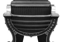 Fire Baskets and Log Baskets / Carron's Log and Fire basket collection