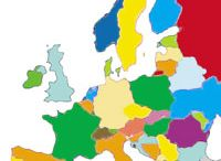 Interactive European map