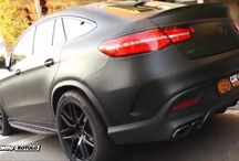 Nuevo Mercedes GLE Coupe 63 AMG en Negro Mate Total! - Car Wrapping by Pronto Rotulo since 1993 / by Pronto Rotulo