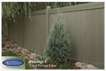 Prestige Vinyl Fencing / Our Prestige Fencing is our top of the Line fencing system.