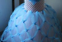 Robe de princesse en tulle