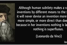 Talents of Leonardo / This board is about the things Leonardo da Vinci contributed to mankind.