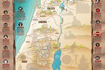 Mapas tierra santa