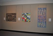 "Motion / The exhibit ""Motion"" from the Contemporary QuiltArt Association will be at The National Quilt Museum through February 23, 2015."