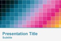 Color PowerPoint Templates / by Free PowerPoint Templates