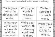 Word Study/Spelling