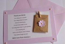 teacher gifts / handmade teacher end of term gifts