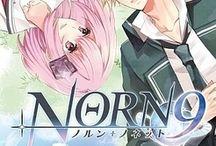 Kakeru and Kohaku ♥ / Norn9 Norn+Nonet couple ♥  Kakeru Yuiga ♥ Kohaku