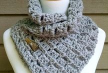 Crochet Cowl, scarves and shawls