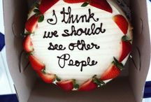 At Least There's Cake / Bad news by baked goods / by Susan Panther