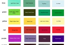 Colour Seasons & Tonal Palettes / A board that shows the different tonal and seasonal palettes.  Through Colour Coaching, you can determine which is your most flattering colour palette so will you always look youthful & healthy by wearing the right clothes and make up colours