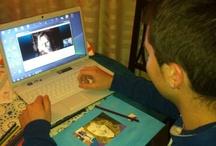 Tarea:  retratos con Skype / by Manuel P