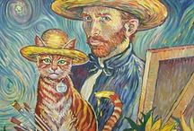 The Classic Painters with a twist