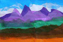 Art Lessons- Tissue Paper