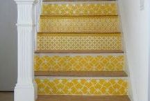 stairs and floors / by Amy Orban