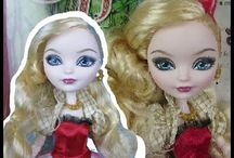 Ever After High Dolls / by GingerLola