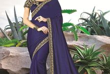 2604 The Enchantress Two tone silk Festive season sarees