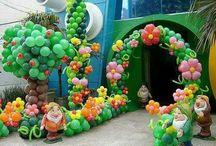 ornamentacao balões