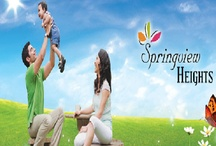 Springview Heights / Springview Heights is a new residential township located at NH24, Ghaziabad. Springview Heights is spread across 88 acres and offer 2bhk Optima, 2bhk Maxima, 3bhk Maxima flats with very unique features and advantages.