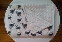 Custom made Blankets / Handamde Custom Order Organic knit and Organic Cotton blankets.