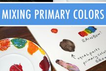 Painting tips, colour mixing