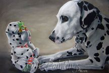 Realistic Dog Art / Realistic domestic dog art
