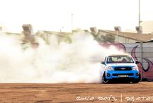 Drifting In Cape Town / I always heared the sounds of tires screeching and revs limiting ... #CapeTown drifting