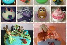 Dorty Sandry Č. / Úžasné dorty sestry mojí kamarádky. Nejen super vypadají, ale úžasně chutnají, marcipán skvělé chuti co se rozplývá a není přeslazený. I náplň - božská mana :)