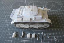 """Modellismo - Pz.Kpfw. II Ausf. L """"Luchs"""" / Panzerkmpfwagen II Ausf. L """"Luchs"""" (ICM 35121) - 1/35 scale model (http://vonvikken-modellismo.blogspot.it/search/label/Luchs%20%28WW2%29)"""