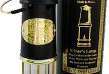 Welsh Miners Lamps / Welsh Miners Lamps   Various sizes and metals available  Engraving available