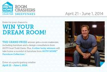 HGTV ROOM CRASHERS / Do you want your room crashed by @HGTV host Todd Davis? Visit us today for your chance to win http://www.hgtvhomefurniture.com/roomcrasherssweepstakes/index.asp  / by American Home