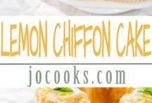 Chiffon Cake Reipes