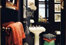 downstairs bath / by Lubi Moo