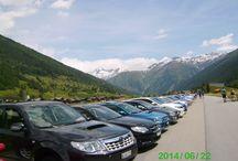 Subaru treffen Ulrichen, Switzerland / Subaru