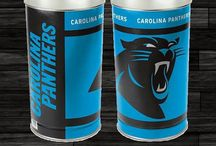 Carolina Panthers Merchandise Decor Bedding Gifts / Carolina Panthers Bedding and Merchandise are awesome ways to decorate your home & office to create your own Carolina fan zone in your bedroom, kid's bedroom, game room, study, kitchen, living room, and even the bathroom. Also great as Panther fan gifts. Carolina Panthers fans - Show off your team spirit today!