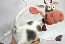 Vache / Cow crochet
