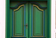 Окна, двери, калитки, ставни