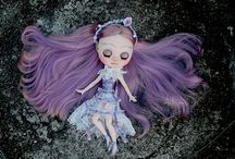 Pullip, Blythe, and other dolls